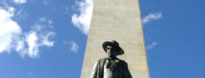 バンカーヒル記念塔 is one of Boston.