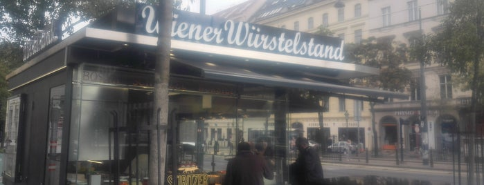 Wiener Würstelstand is one of Interessante Imbisse.