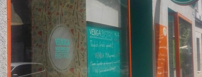 Venga - Vegetarisches Bistro is one of Gesünder Essen In Wien.