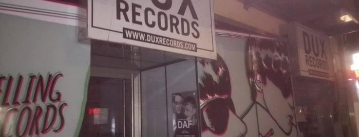 Dux Records is one of Vinyl Shops.