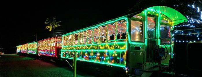 Sugar Cane Train is one of Hawaii.