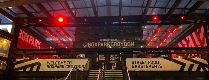BOXPARK Croydon is one of London restaurants.