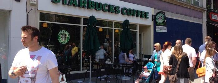 Starbucks I have visited