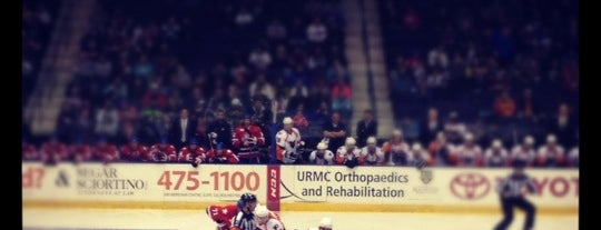 Amerks Home Game is one of Places to check out in Rochester.