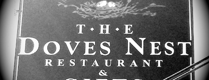 The Dove's Nest Restaurant is one of Restaurants to Remember.