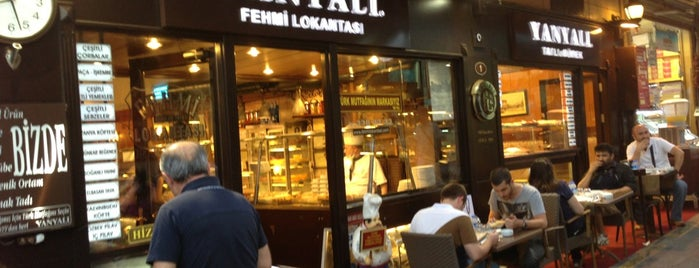 Yanyalı Fehmi Lokantası is one of What to Eat in Turkey.