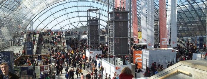 Leipziger Buchmesse is one of Buchmesse Leipzig / wo die tollen Leute sind.