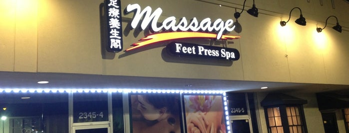 Feet Press Spa is one of Lugares favoritos de Kimberly.