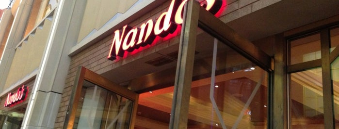 Nando's is one of Locais curtidos por Kevin.