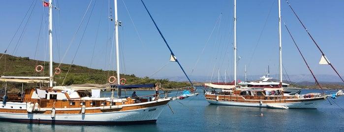 Yedi Adalar is one of My favorites for Harbors or Marinas.