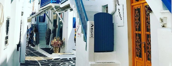 Mykonos is one of Greece.