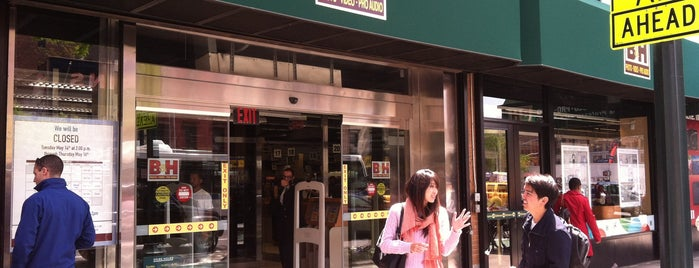 B&H Photo Video is one of lou lou in ny.