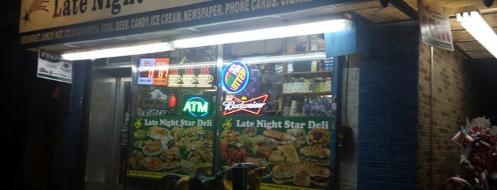 Late Night Stars Deli is one of Club-Mate NYC.