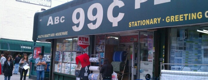 ABC 99 Cent Plus is one of NYC Williamsburg.