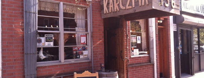 Karczma is one of Places to Check Out in Brooklyn.