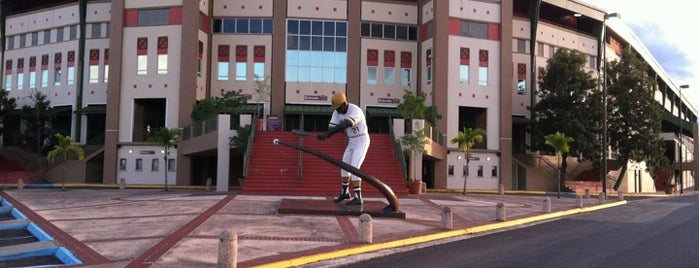 Estadio Roberto Clemente Walker is one of Puerto Rico.
