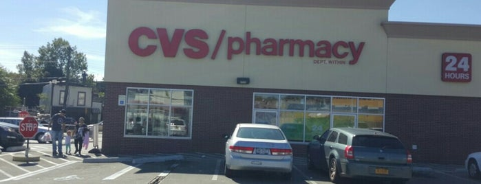 CVS pharmacy is one of Tempat yang Disukai Angelina.