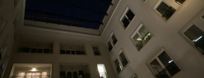 Executive Lounge of Skopje Marriott Hotel is one of สถานที่ที่ Alejandro ถูกใจ.