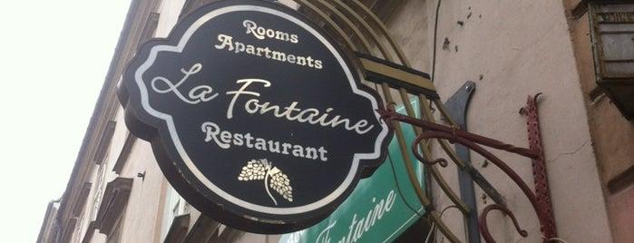 La Fontaine Restaurant is one of Julia : понравившиеся места.