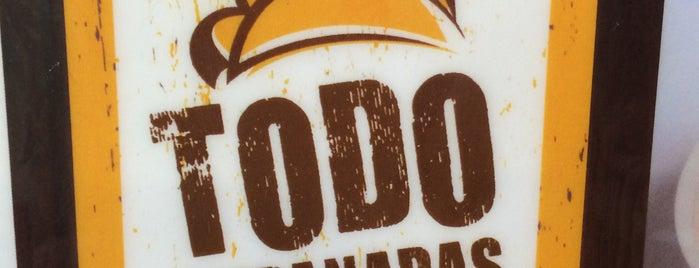 Todo Empanadas is one of Locais curtidos por Alfredo.