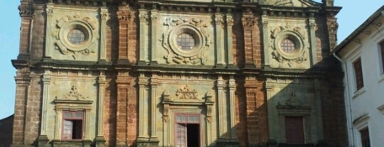 Basilica of Bom Jesus is one of Lieux qui ont plu à Irina.