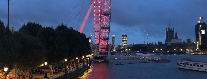 London Eye / Waterloo Pier is one of Posti che sono piaciuti a Karen.