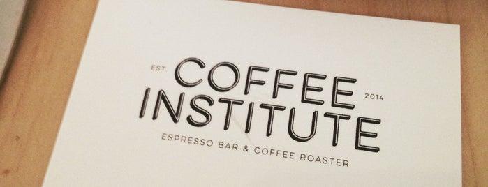 Coffee Institute is one of สถานที่ที่บันทึกไว้ของ William.