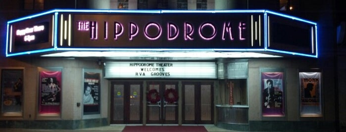 Hippodrome Theater is one of rva.