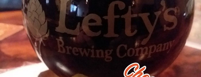 Lefty's Brewing Company is one of Massachusetts Craft Brewers Passport.