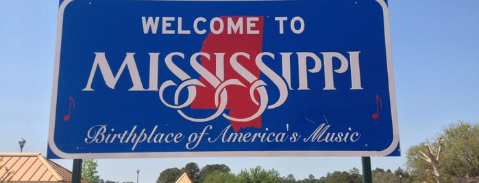 Alabama / Mississippi State Line is one of Lieux qui ont plu à Kevin.
