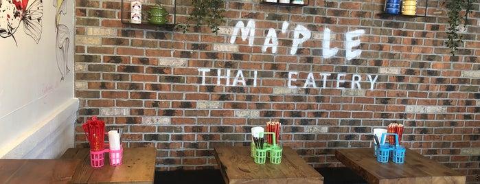 Mamu Thai Noodle is one of Lieux qui ont plu à Jessica.