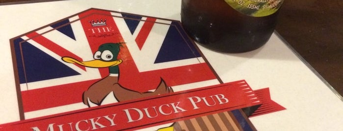 Mucky Duck Pub is one of Lugares guardados de Kent.