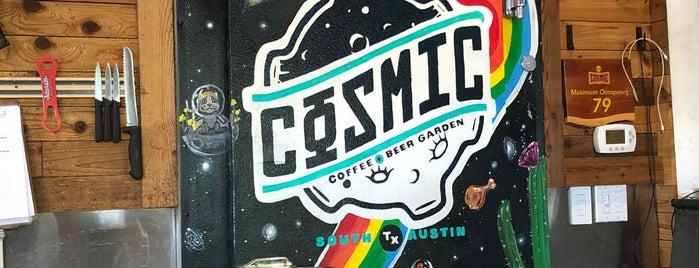 Cosmic Coffee + Beer Garden is one of Sxsw 2018.