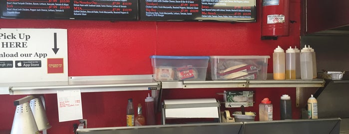 Firehouse Deli is one of Fairfield.