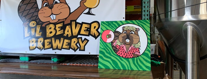 Lil Beaver Brewery is one of Breweries I've visited.