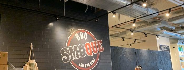 Smoque BBQ is one of Consta : понравившиеся места.
