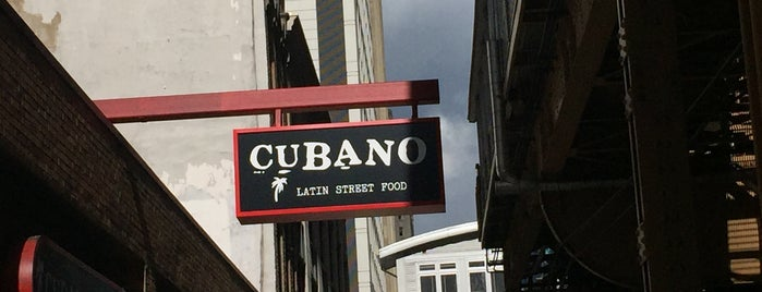 Cubano is one of Chicago Loop 🍽.