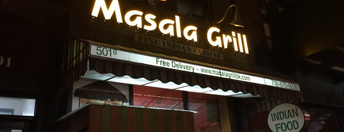 Masala Grill is one of Lugares guardados de Mary.