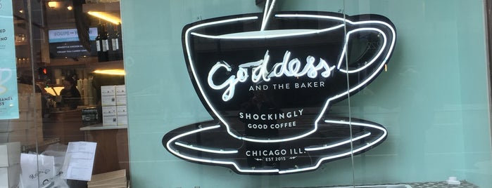 Goddess and the Baker is one of River North.