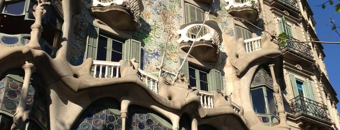 Casa Batlló is one of Qué ver en Barcelona.