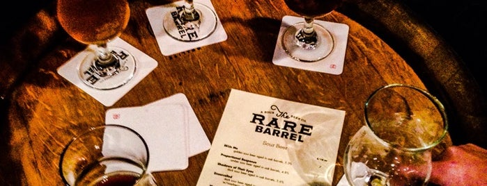 The Rare Barrel is one of Out of town.