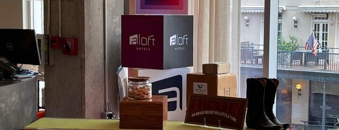 Aloft Austin Downtown is one of Austin w Gemma.