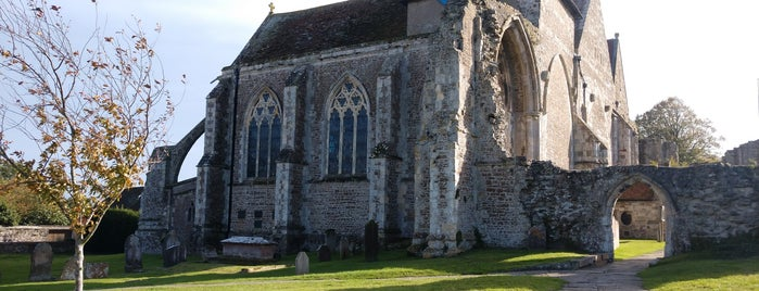 St Thomas The Martyr Church is one of Camber.