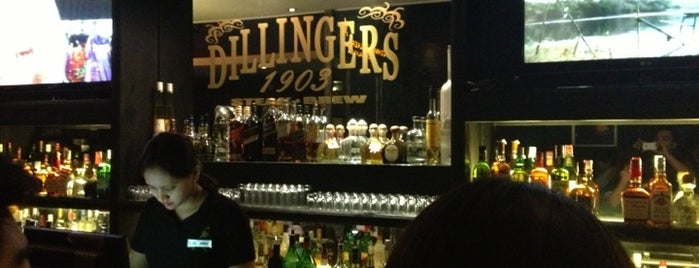 Dillingers 1903 Steak & Brew is one of Must Visit Bars.