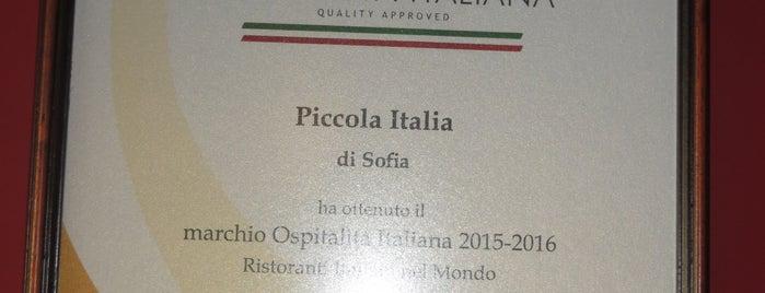 Piccola Italia is one of Smiley'in Kaydettiği Mekanlar.
