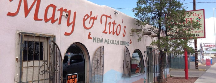 Mary & Tito's Cafe is one of Albuquerque, NM.