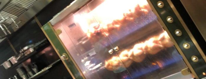 Harrods Rotisserie is one of London.Food.