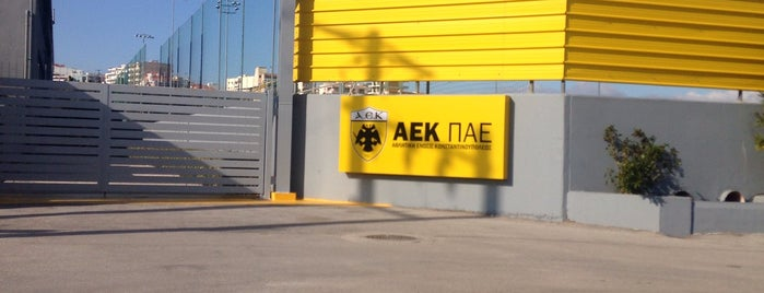 Training Facilities p.a.e. A.E.K. is one of Posti salvati di Φίλιππος.