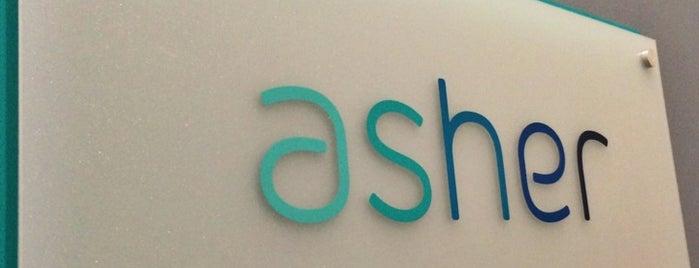 Asher Agency is one of Tempat yang Disukai AJ.