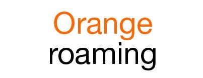 Offre Roaming Orange